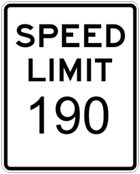 Speed Limit 190