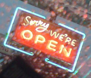 Sorry were open_AliceNWondrlnd