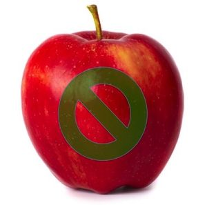 No apple