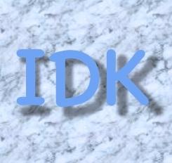 IDK ppt
