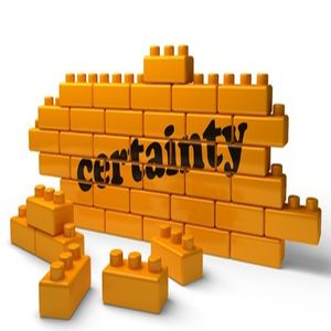 Certainty bricks
