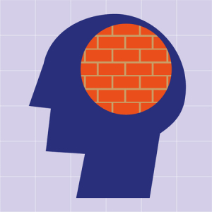 Brick wall head