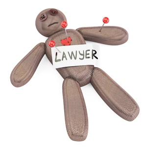 Lawyer Voodoo Doll