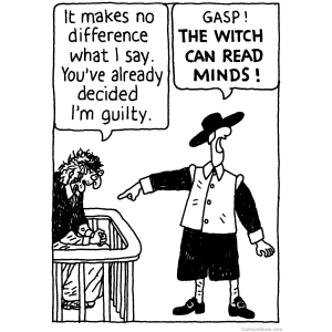 The Witch Can Read Minds Cartoon